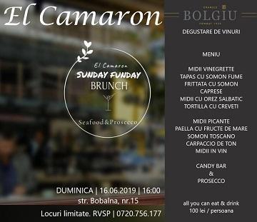 Sunday Brunch El Camaron Ploiesti