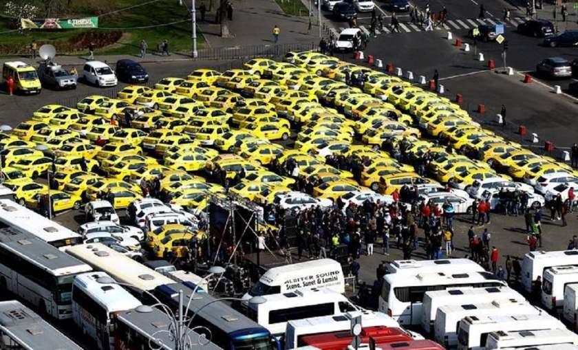 Protest Taximetristi: Un Nou Protest Al Transportatorilor în București