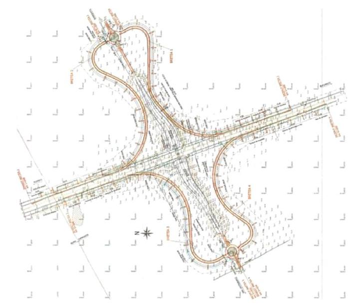 Harta Viitorului Nod Rutier De La Gherghiţa Al Autostrăzii A3