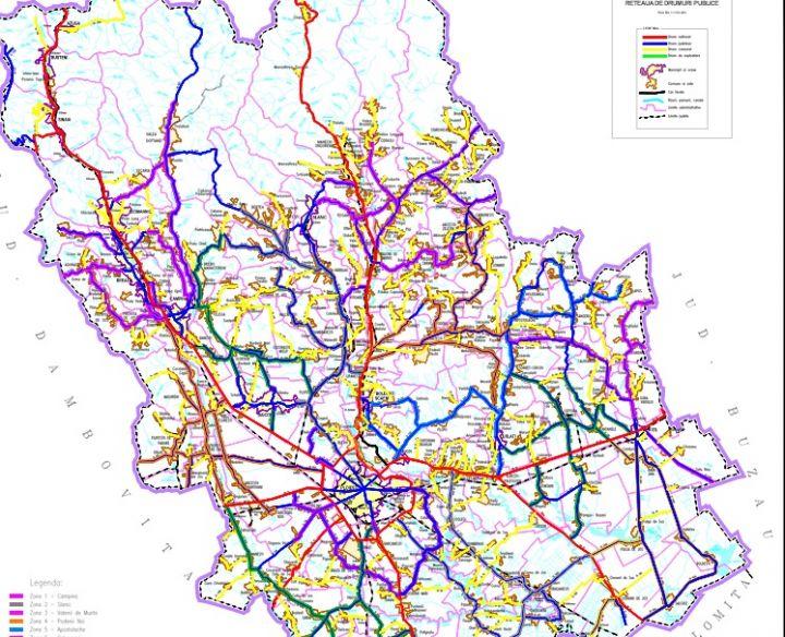 Harta Deszăpezirii In Prahova 13 Zone De Acţiune Observatorul