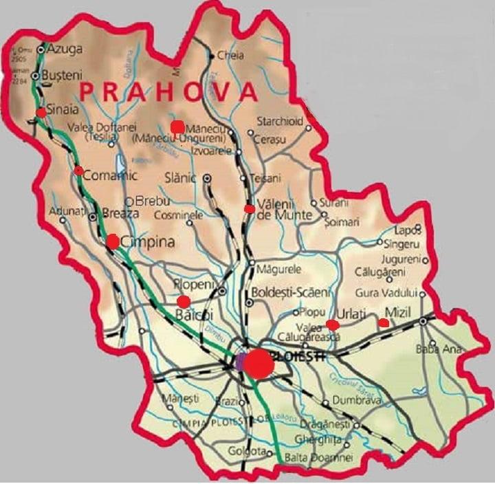 Harta Incendiilor Din Prahova In 2013 Observatorul Prahovean
