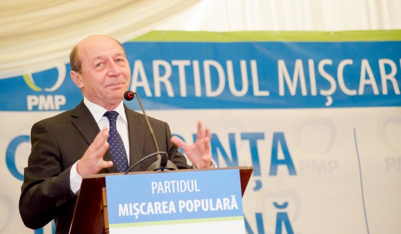 Traian Basescu PMP