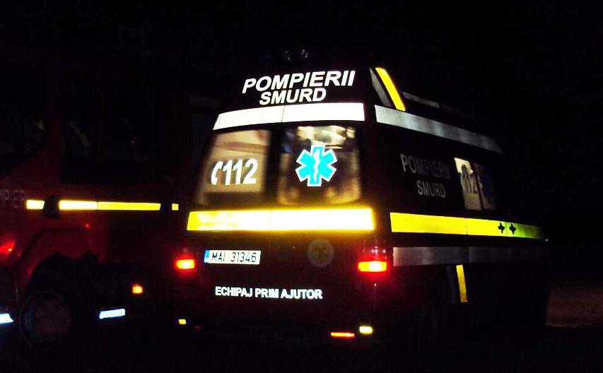 Pieton lovit de mașină pe DN 1, la Florești