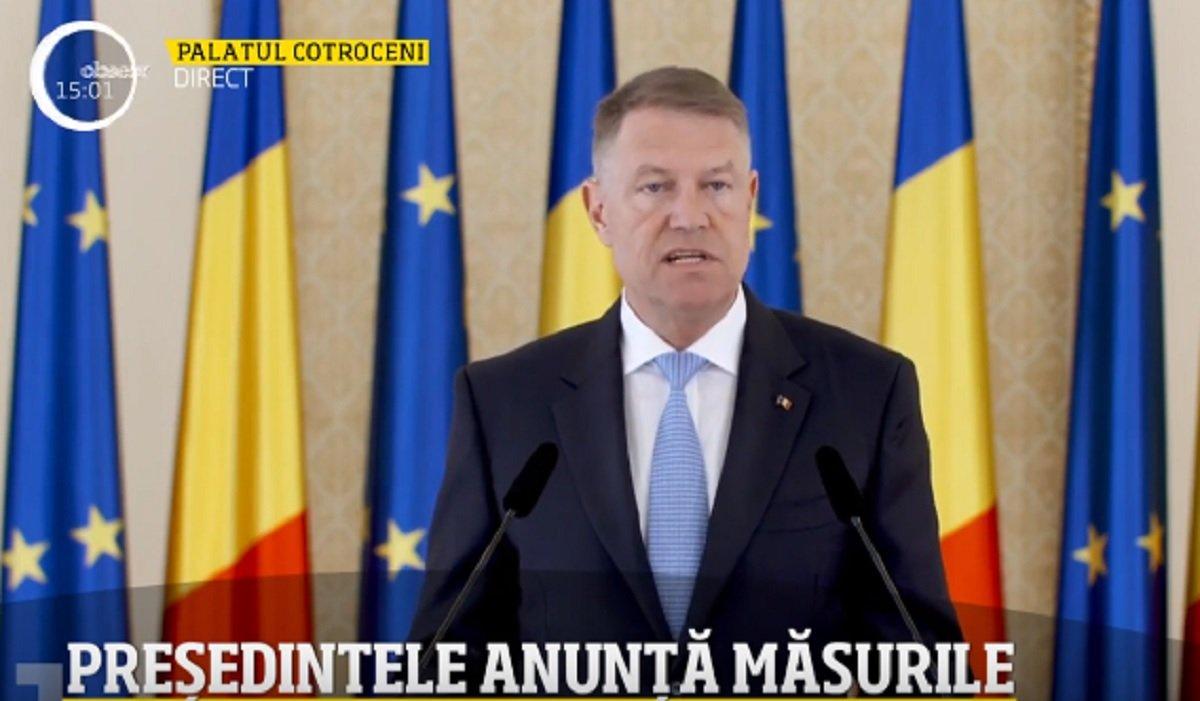 Președintele Iohannis, anunț despre relaxarea de la 1 iunie – VIDEO