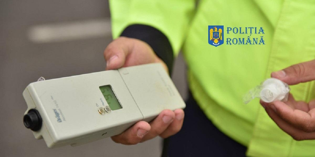 Cinci dosare penale pentru conducere sub influența alcoolului întocmite de polițiștii prahoveni în acest weekend