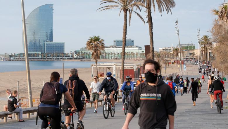 Spania își deschide granițele pentru cetățenii europeni, începând din 1 iulie