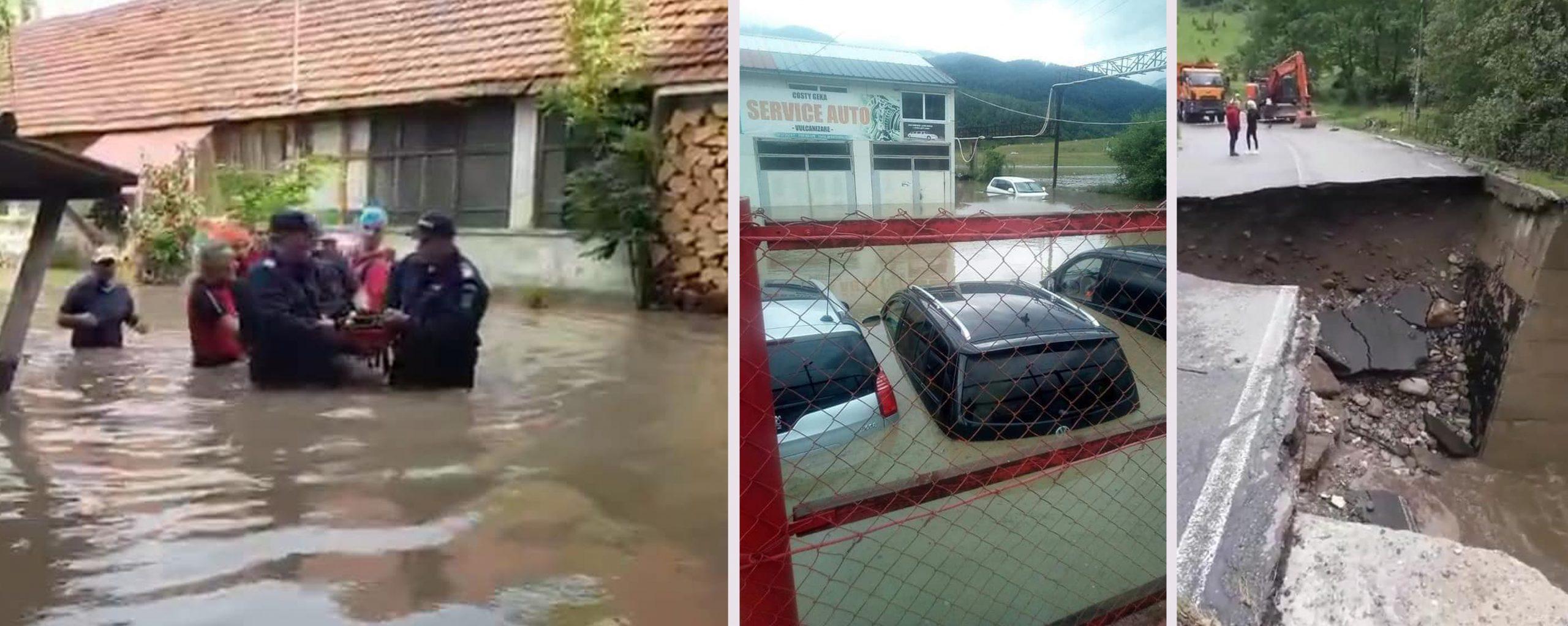 Cum arată dezastrul provocat de viitura de pe Prut. 18 județe din România afectate de inundații – VIDEO/FOTO