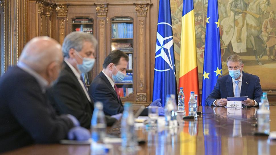 Președintele Iohannis discută la Cotroceni cu premierul Ludovic Orban pe teme economice. Poate apar și primele măsuri reale