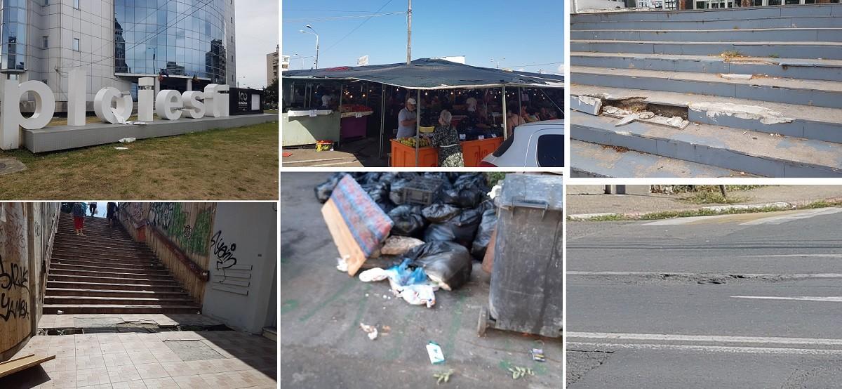 Imagini rușinoase. Cinci lucruri care fac din Ploiești cel mai urât oraș – FOTO