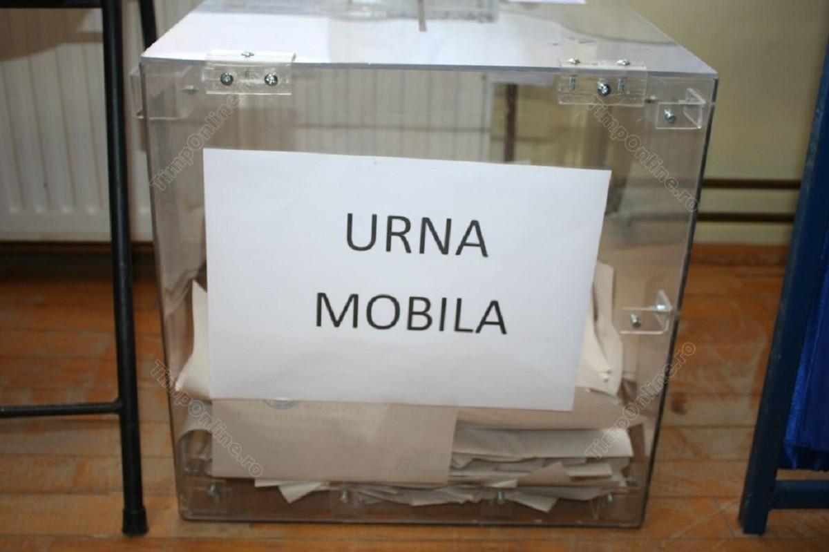 Alegeri locale 2020. Precizări cu privire la solicitarea urnei mobile. Modelul cererii