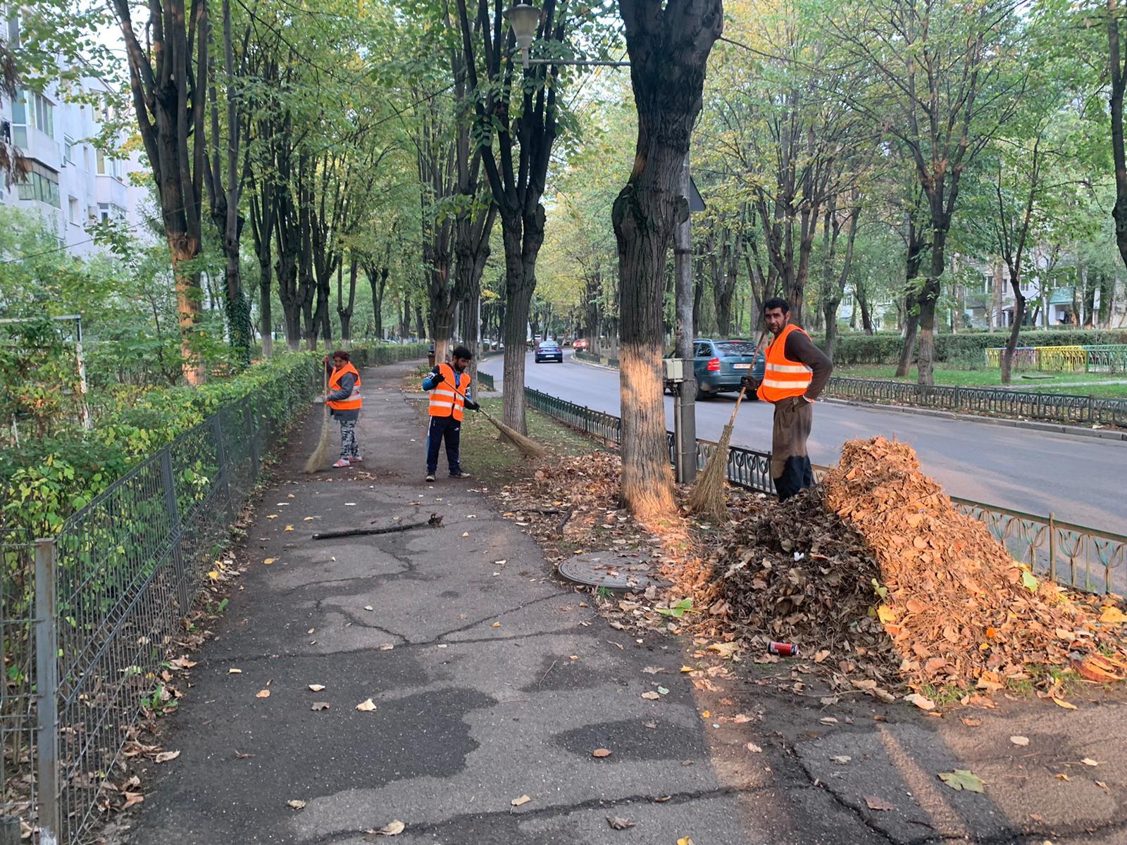 """FOTO-VIDEO: A început marea curățenie din Ploiești. """"Acum de ce se poate, chiar și fără să vină Iohannis?"""""""
