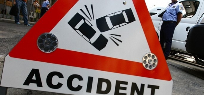 Accident pe strada Andrei Mureșanu din Ploiești