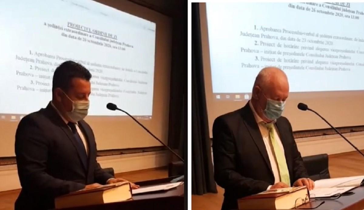 Doi noi consilieri județeni au fost învestiți, luni, în funcție – Video