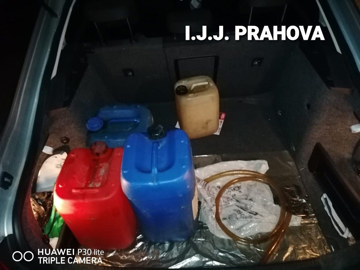 Bărbat prins, miercuri noapte, în timp ce fura combustibil dintr-un autocamion, în zona Parcului Industrial Ploiești