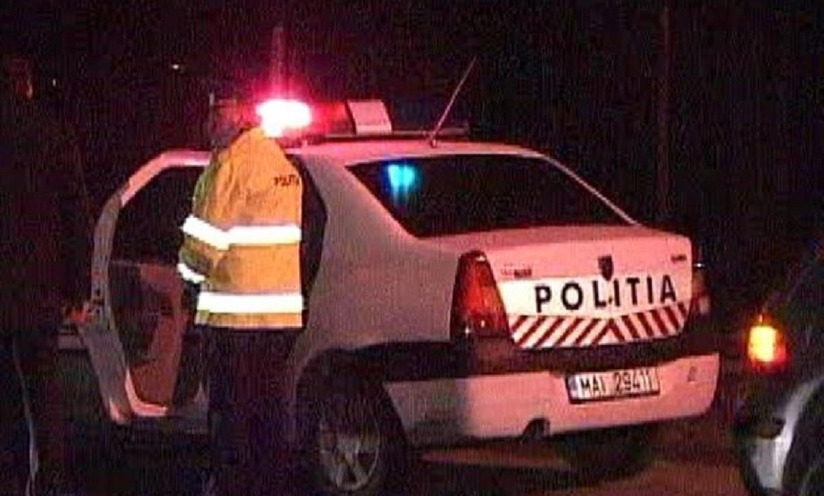 Scandal aplanat cu focuri de armă la Tinosu. Nouă persoane au fost conduse la poliție