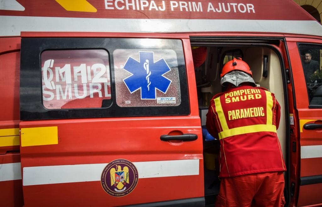 Tentativă de suicid în Ploiești. Un bărbat amenință că își dă foc