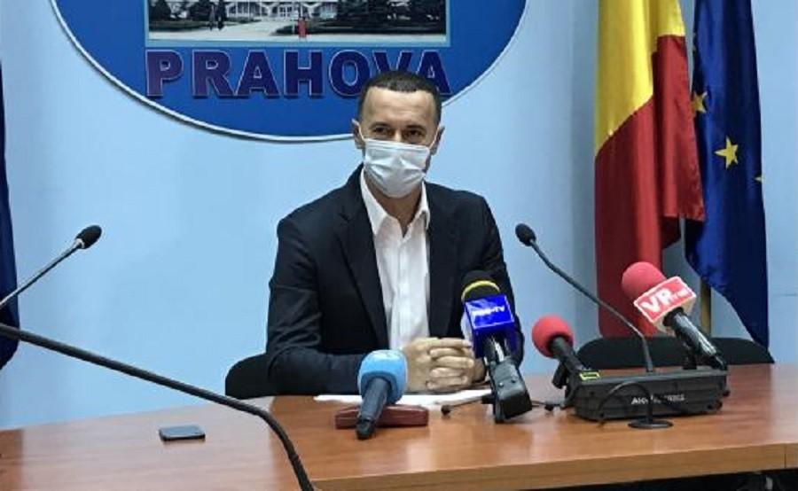 """Iulian Dumitrescu, președintele CJ Prahova: """"Vom avea un nou spital modular și echipamente medicale în valoare de 3 milioane de Euro"""""""