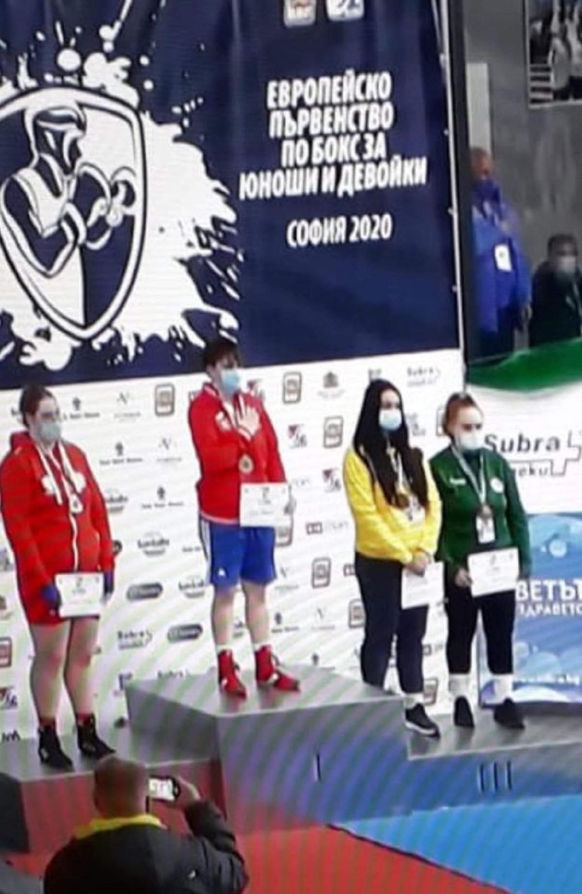 """Livia Maria Botică, de la CSM Ploiești, campioană europeană la box. Titi Tudor: """"M-a făcut un antrenor fericit!"""""""