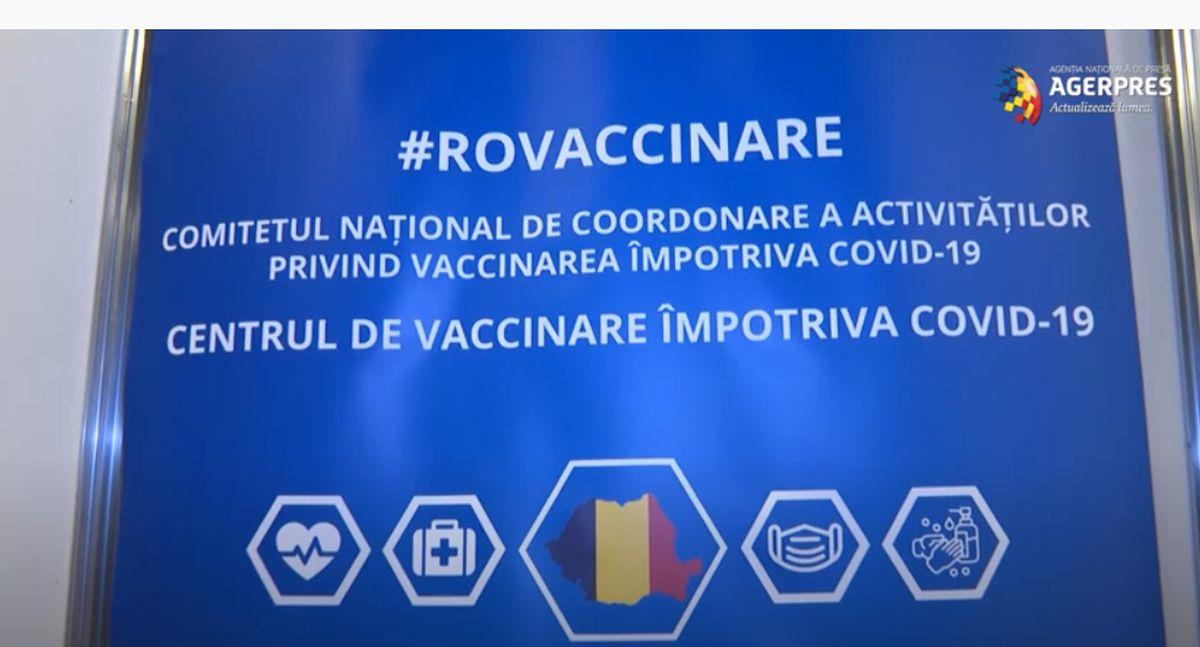 VIDEO Cum arată primul centru de vaccinare anti-covid din România