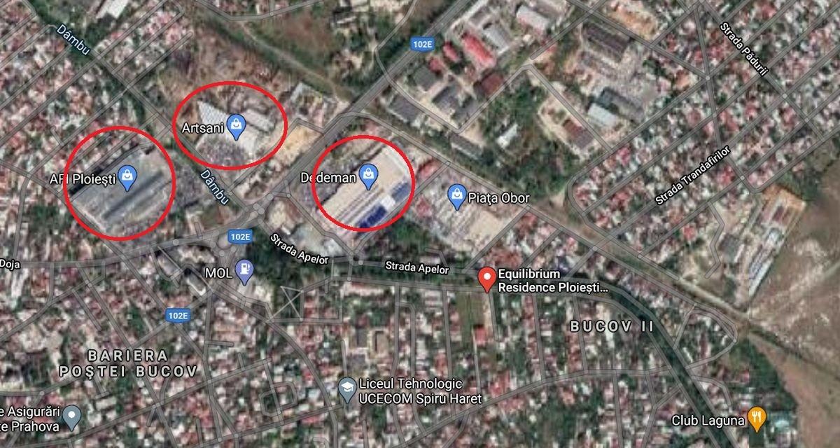 """Cum a ajuns zona Dâmbu – Obor din Ploiești să fie dezvoltată de marii investitori. Urmează un """"boom"""" imobiliar?"""