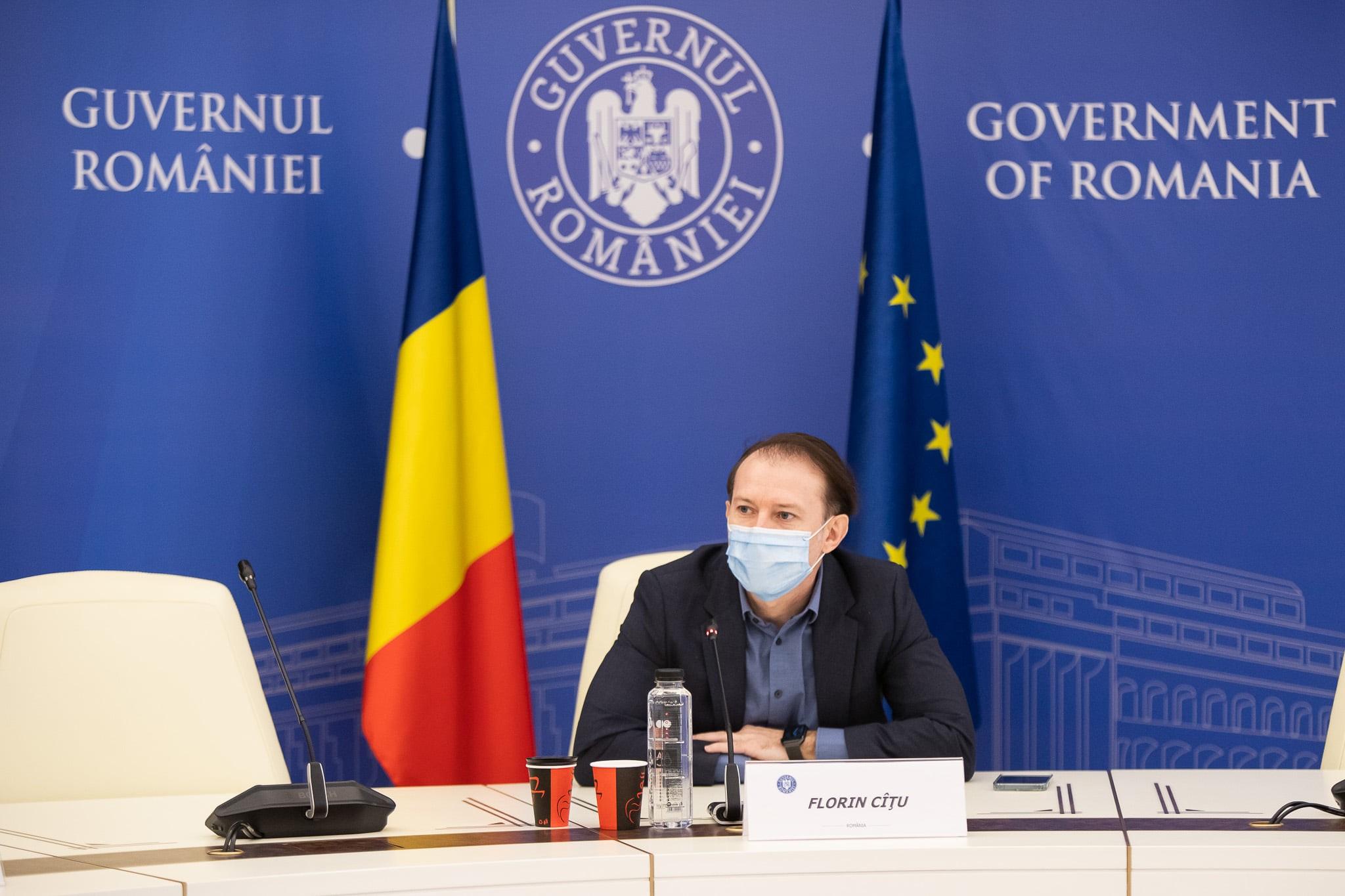 """Premierul Cîțu: """"Nu vom introduce restricții pentru persoanele nevaccinate"""""""