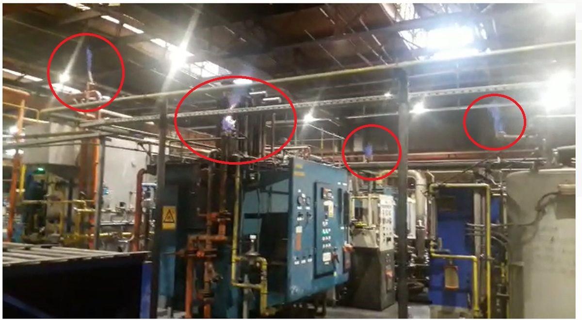 """Acuzațiile unui fost angajat care a lucrat la fabrica Timken din Ploiești: """"Pericolul nu este flacăra deschisă, ci gazele nearse"""". Cum a răspuns compania. Imagini din secțiile forjă și tratamente termice (VIDEO)"""