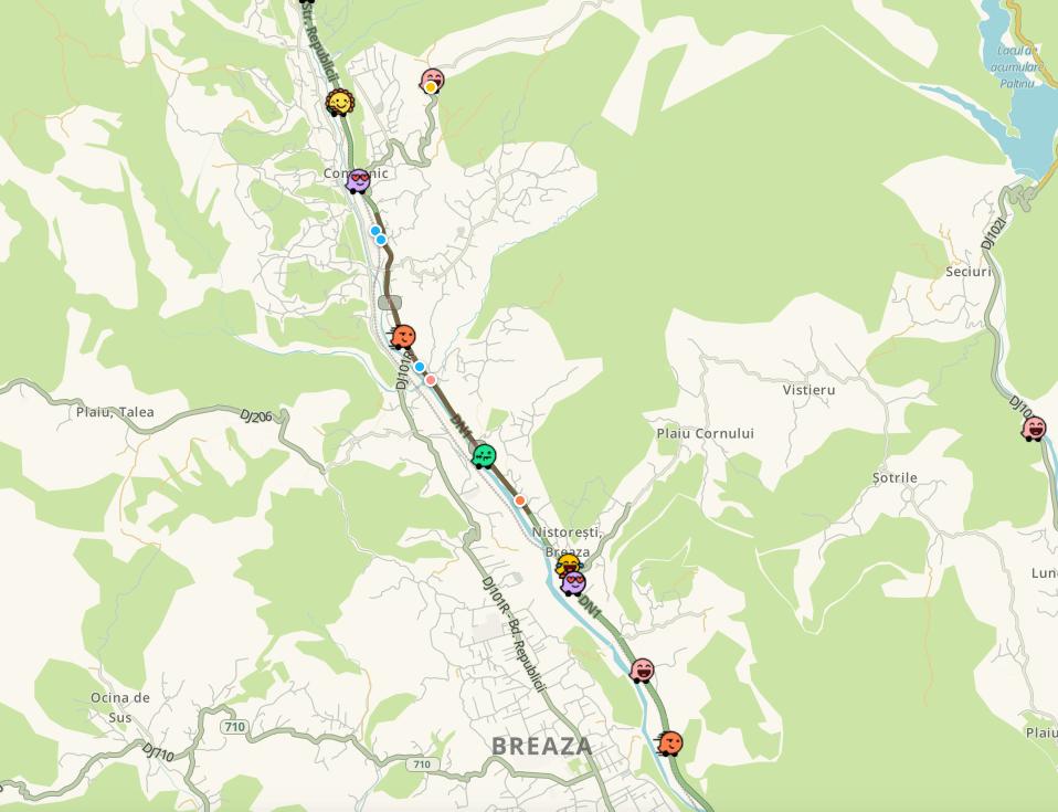 Trafic aglomerat pe Valea Prahovei. Poliția recomandă rute ocolitoare – VIDEO